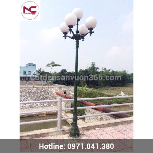Nơi mua cột đèn sân vườn tại Vĩnh Phúc giá rẻ