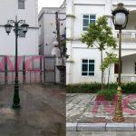 Địa chỉ bán cột đèn sân vườn uy tín, chất lượng