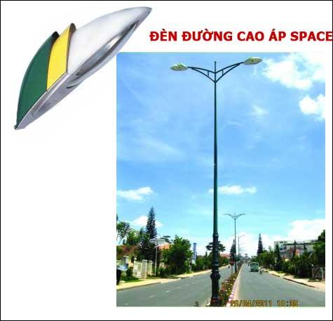 Báo giá đèn đường cao áp Space