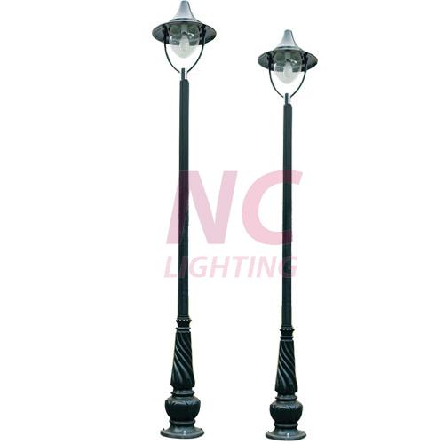 Cột đèn sân vườn 1 bóng