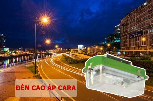 Lắp đặt đèn cao áp CARA chiếu sáng đường phố
