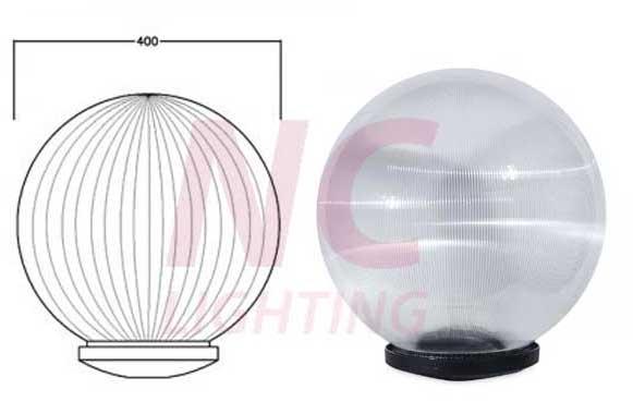 Chi tiết cấu tạo đèn cầu sọc