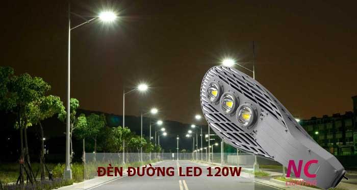 Đèn led chiếu sáng đường phố 120W