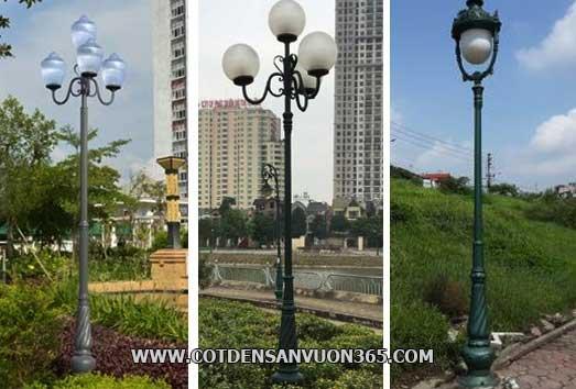 Mẫu cột đèn sân vườn Banian