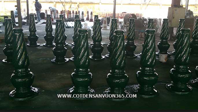 Sản xuất cột đèn sân vườn Banian