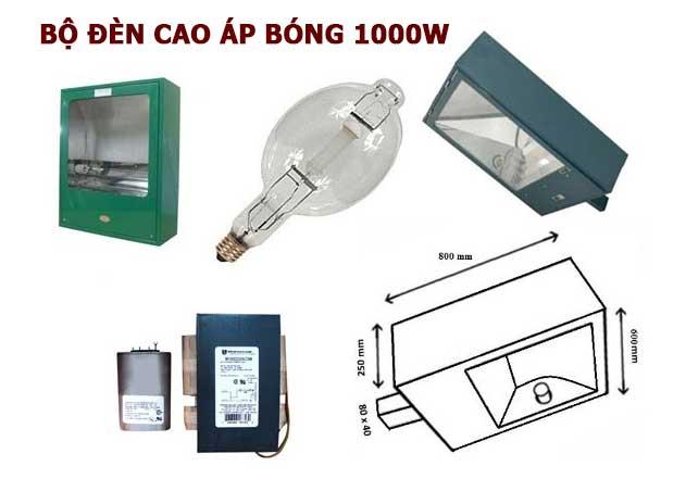 Bộ đèn áp 1000W