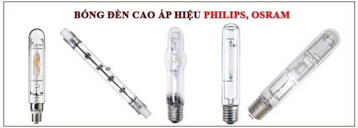 Các loại bóng đèn cao áp