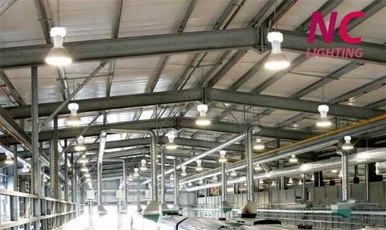 Lắp đặt hệ thống đèn led chiếu sáng nhà xưởng
