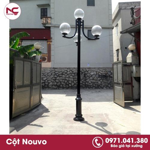 Cách nhận biết cột đèn sân vườn kém chất lượng