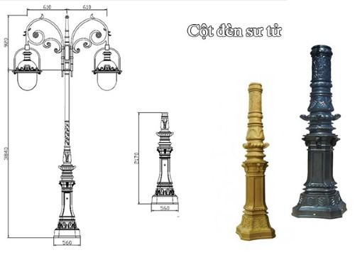 cột-đèn-sư-tử